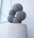 彫刻のオブジェ